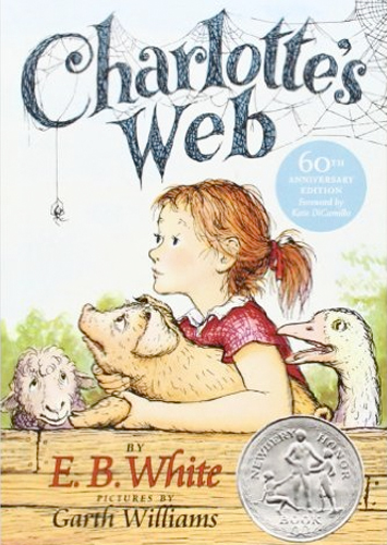 One of the very best children's books ever written, Charlotte's Web is a must have!  The author, E.B. White, also wrote wonderful adult non-fiction about nature that I could read over and over.